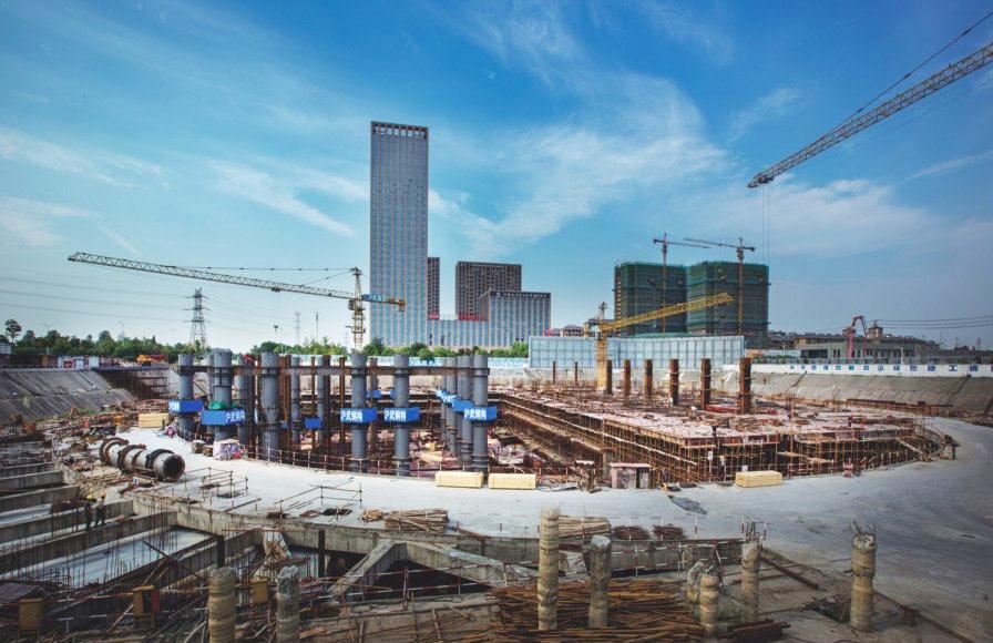 扬州东方国际大酒店桩基工程