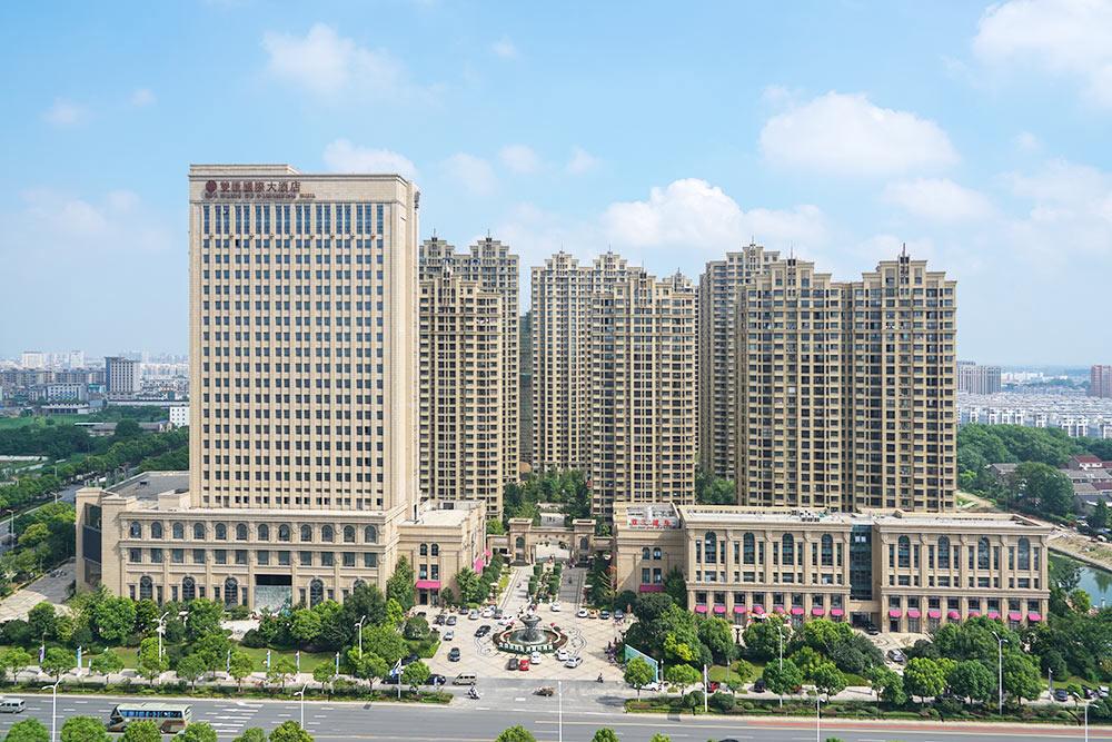 江都双汇国际(省文明工地、扬子杯优质工程)